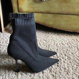 Zara sock bootie